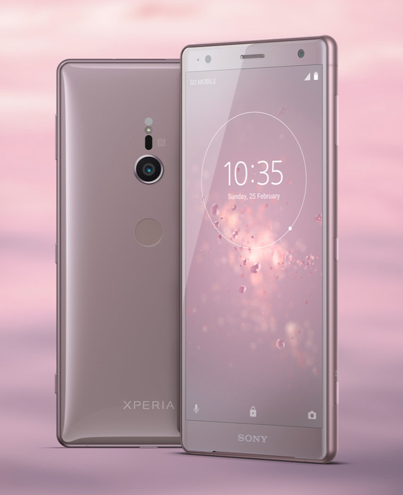 sony xperia xz2 official renders 4