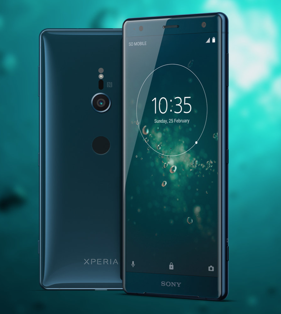 sony xperia xz2 official renders 5