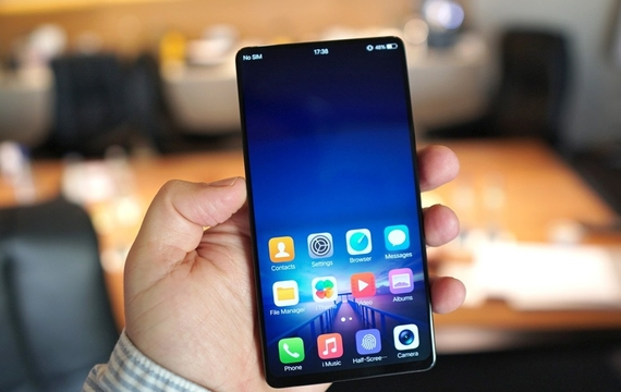 vivo apex bezel less concept phone 5