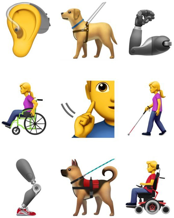 Apple emoji special abilities