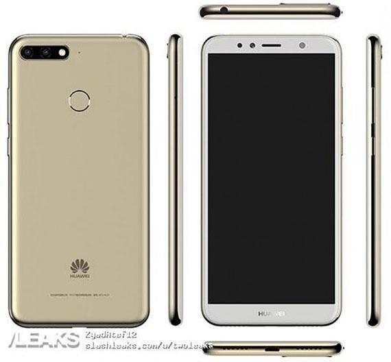 Huawei Enjoy 8: Διέρρευσαν renders και χαρακτηριστικά