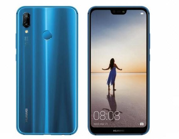 Huawei p20 lite blue render