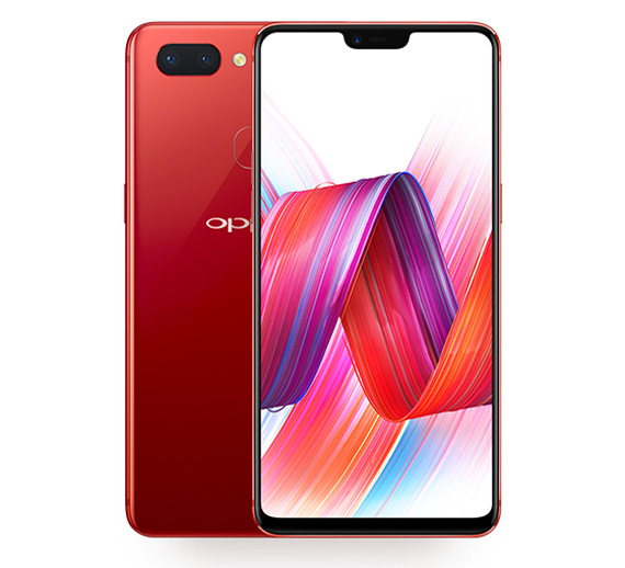 OPPO-R15-Hot-Red