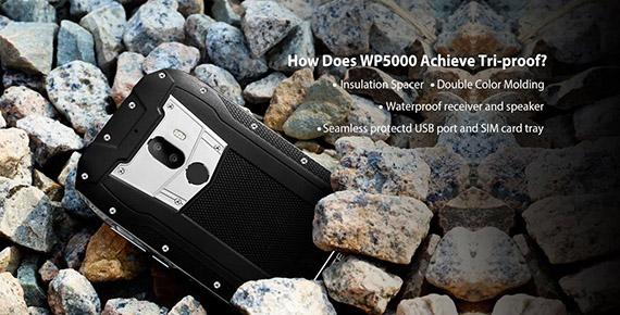 το σκληροτράχηλο Oukitel WP5000