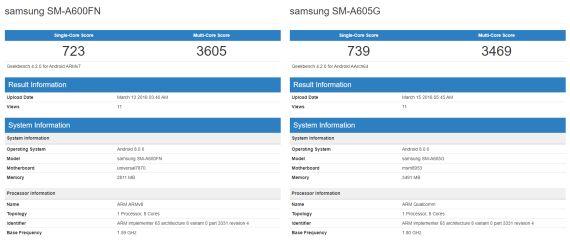 Galaxy A6 και A6+