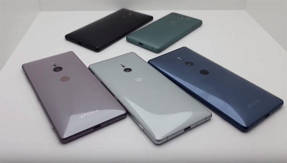Sony Mobile MWC 2018