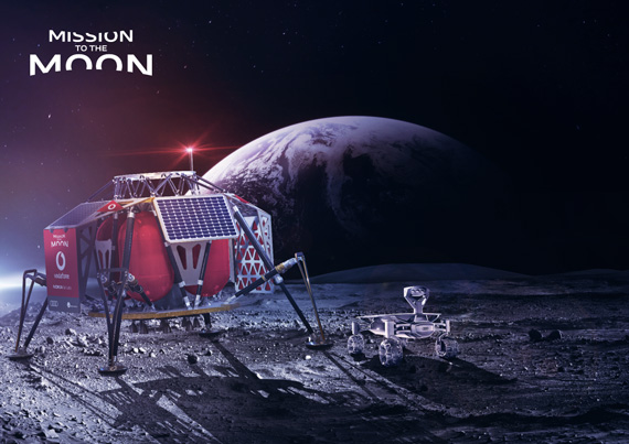 Vodafone MIssion to The Moon 4G