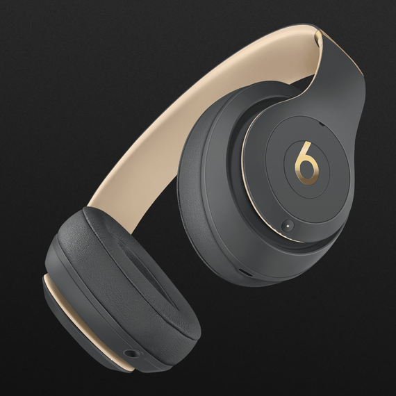 beats studio 3 wireless gray