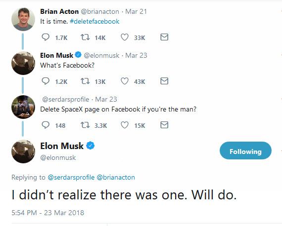 elon musk delete facebook