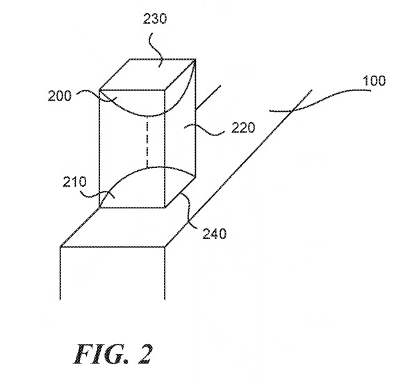 essential pop up camera patent 2
