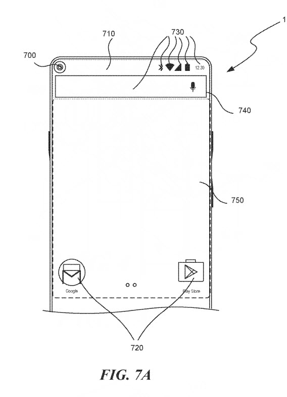 essential pop up camera patent 5