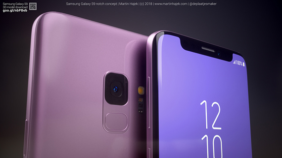 galaxy s9 notch 1