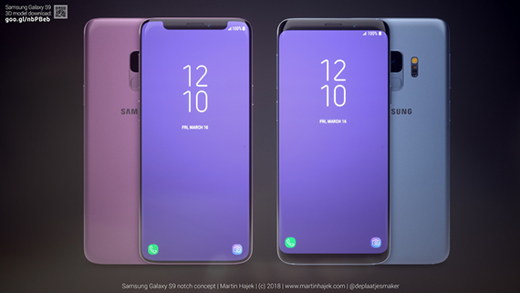 galaxy s9 notch 3