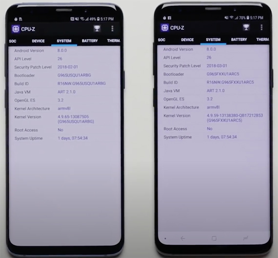 galaxys9 speedtest