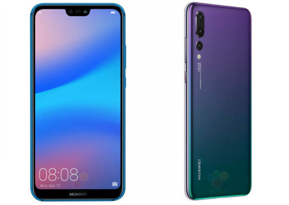 huawei p20 chromatic front