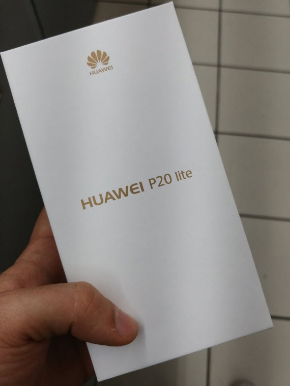 huawei p20 lite packaging