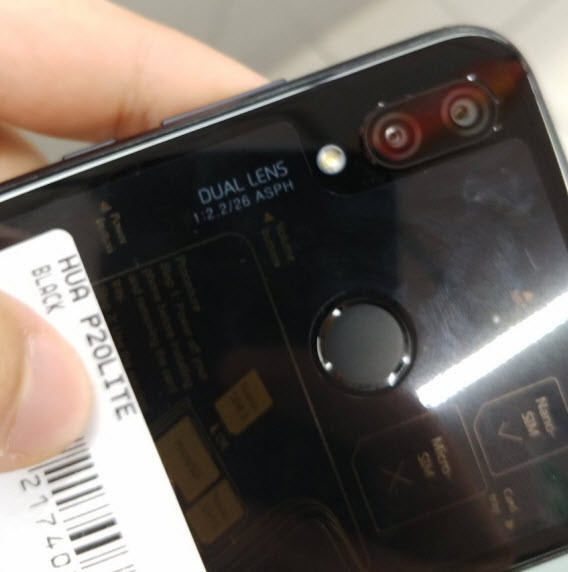 huawei p20 lite real life rear 1