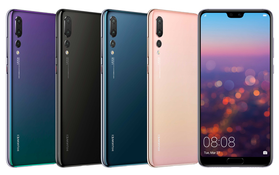 huaweip20 pro all colours2