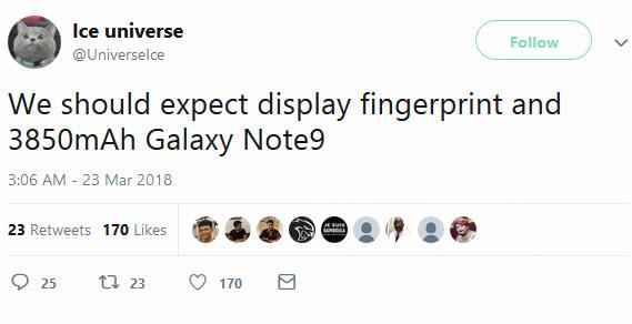 ice universe galaxy note-9