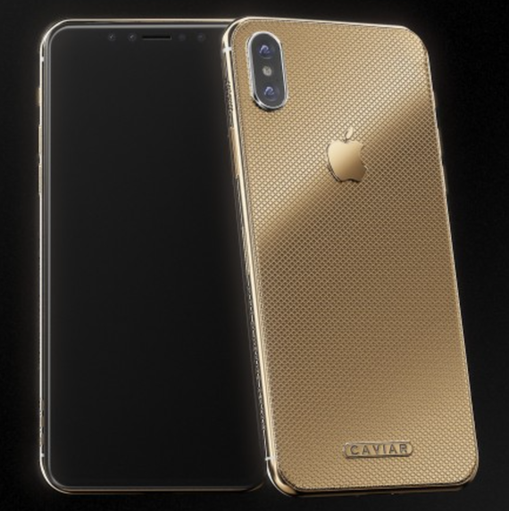 iphone x caviar gold edition 1