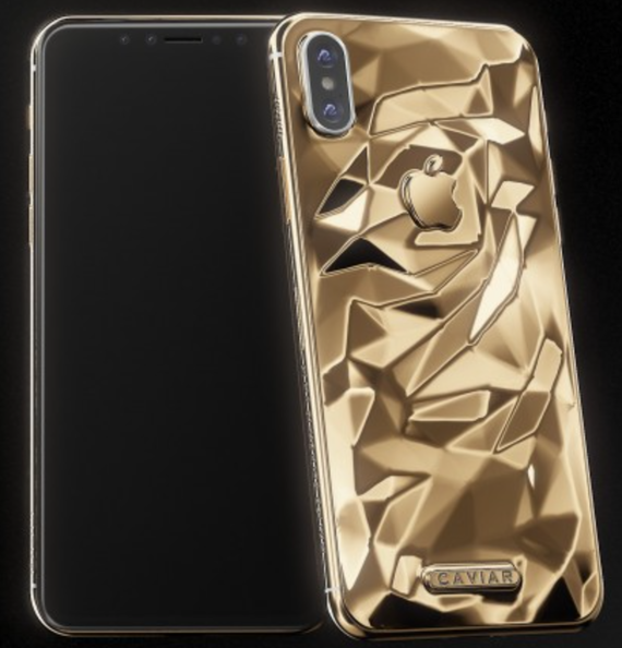 iphone x caviar gold edition 2