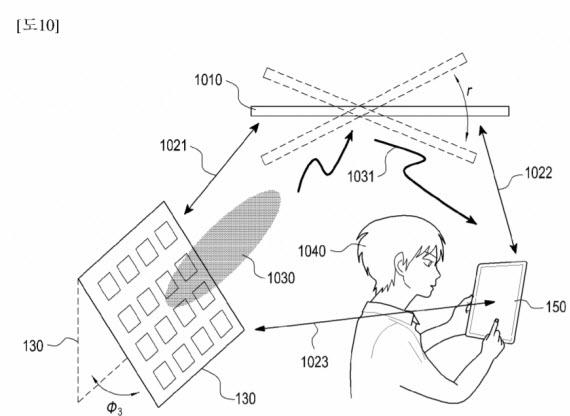 samsung patent wireless charging