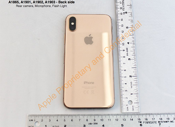 iphone X Gold 6