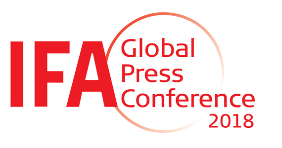 IFA Global Press Conference GPC 2018