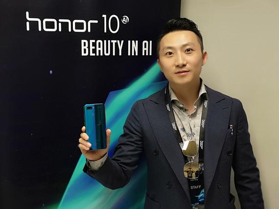 Kim Jin Regional Head Honor smartphones