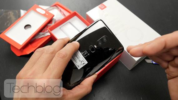 OnePlus 6 ελληνικό unboxing video