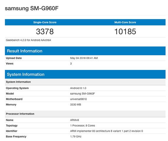 Το Samsung Galaxy S9