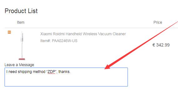 Xiaomi Vaccum Cleaner Cafago ZDP