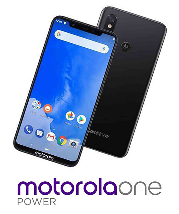 Motorola One Power press renders