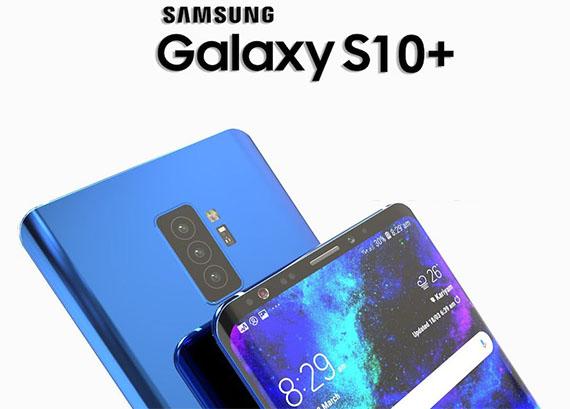 Galaxy S10 smartphones