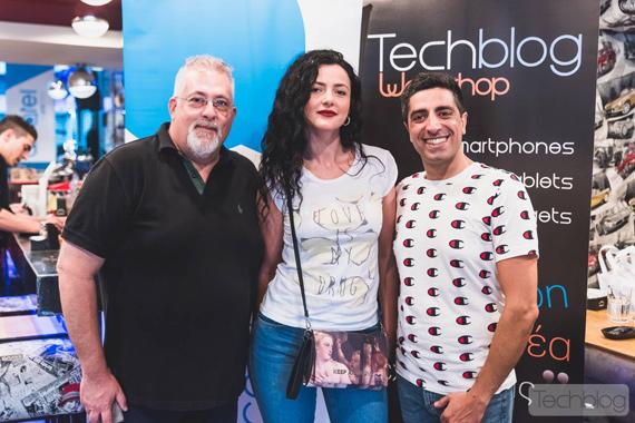 Techblog Workshop στην Αθήνα με το Alcatel 5