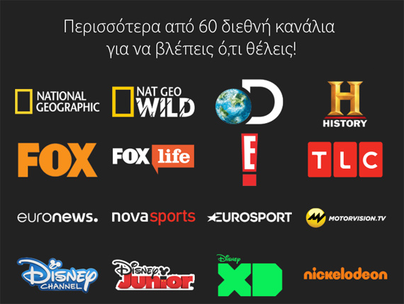 Vodafone TV channels