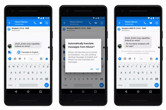 fbmessenger translator