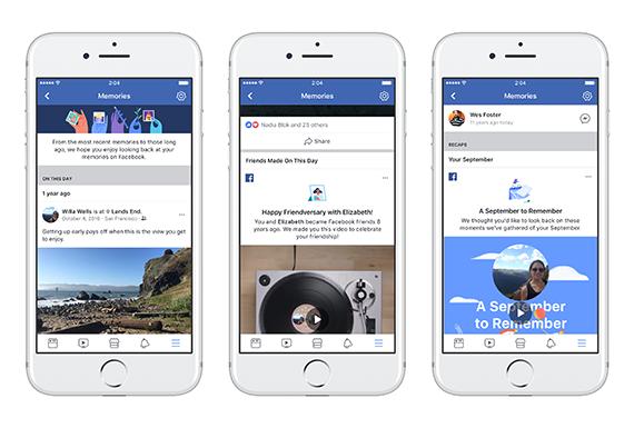 Facebook Memories: Όλες οι αναμνήσεις των χρηστών σε μία σελίδα