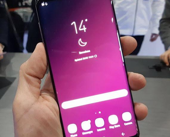 Το Samsung Galaxy S10 με in-display ακουστικό;