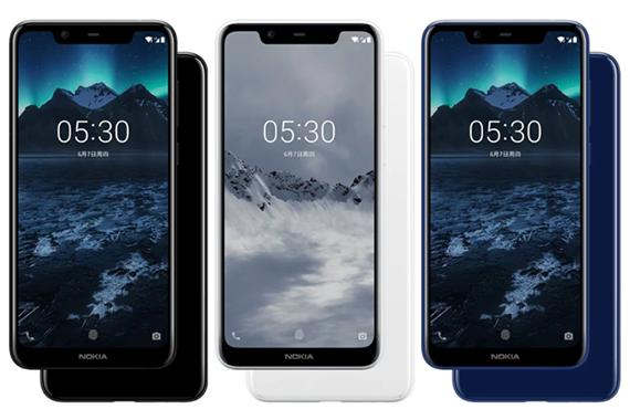 Nokia X5: Επίσημο με Helio P60 SoC, dual κάμερα, AI χαρακτηριστικά, 5,86'' οθόνη με notch και τιμή $148