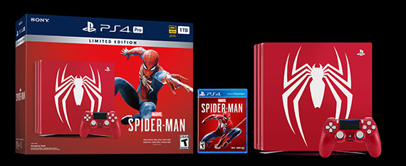 PlayStation 4 Pro Marvel's Spider-Man Limited Edition