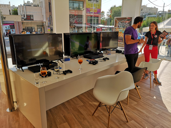 Vodafone Fiber Ready Arena στον Βύρωνα Gaming Area