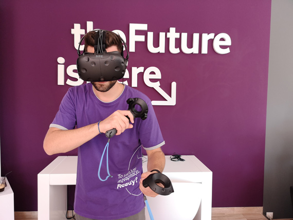 Vodafone Fiber Ready Arena στον Βύρωνα VR Area