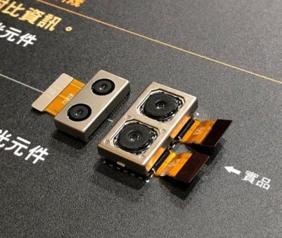 Xperia XZ3 dual cameras