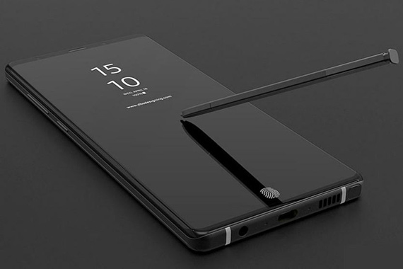 Samsung Galaxy Note 9 leaked
