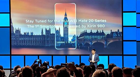 Τα Huawei Mate 20 θα παρουσιαστούν στις 16 Οκτωβρίου στο Λονδίνο [IFA 2018]