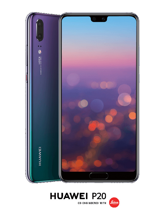 Huawei P20 twilight color