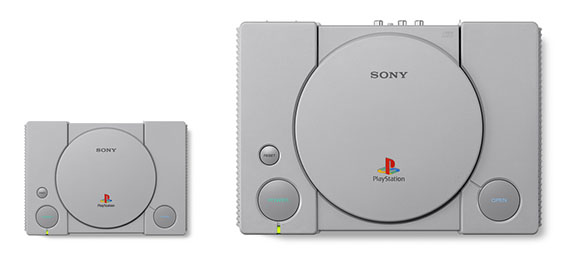 PlayStation Classic vs PS