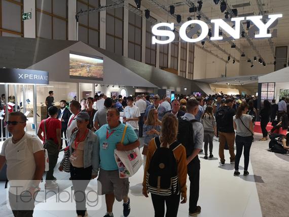 Η Sony στην έκθεση IFA 2018 Booth tour video