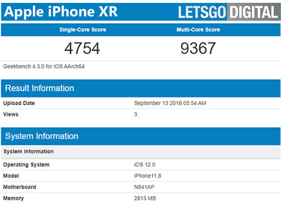 iphonexrgeekbench